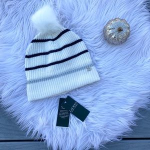Ralph Lauren striped winter hat